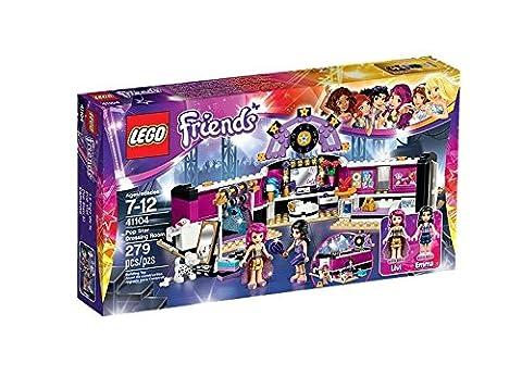 LEGO - 41104 - Friends - Jeu de Construction - La Loge de la Chanteuse