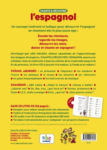 CHANTE ET DECOUVRE L'ESPAGNOL (Nouvelle édition)