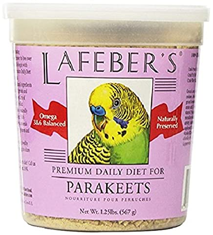 LAFEBER - Premium Daily Diet Pellets for Parakeet - 1.25