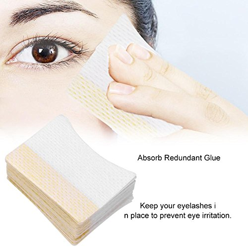 Einweg-Wimpernverlängerungs-Patch aus Baumwolle, 80 Stück (Augenrötung)