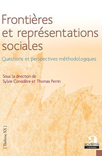 Frontières et représentations sociales.: Questions et perspectives méthodologiques par Sylvie Considère
