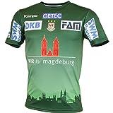 Kempa SC Magdeburgo Camiseta Home 17/18, verde