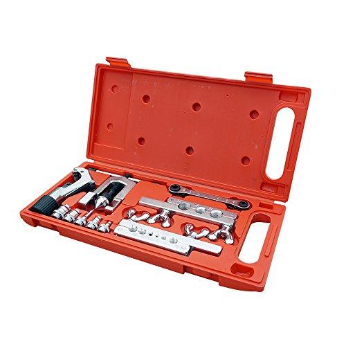 ECO-WORTHY Abfackelungswerkzeug-Kit Rohr-Expander-Schneider Klimaanlage & Kühlschrank - Ratchet Tube Cutter