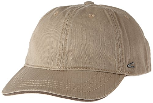 camel active Herren Baseball Cap 9C09, Beige (Beige 15), Large