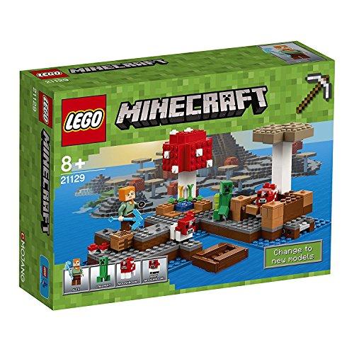 Preisvergleich Produktbild LEGO Minecraft 21129 - Die Pilzinsel