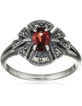 esse Damen Ring 925 Sterling Silber vintage-oxidized