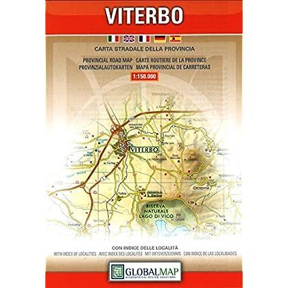 Viterbo. Carta Stradale Della Provincia 1:150.000