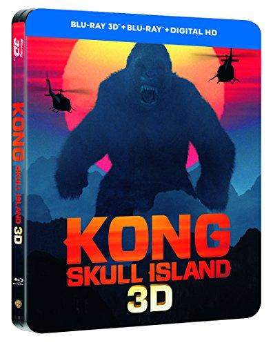 Kong : Skull Island [Édition Limitée boîtier SteelBook]  [Blu-ray] [Édition limité boîtier SteelBook - Blu-ray 3D + Blu-ray + Digital UltraViolet]