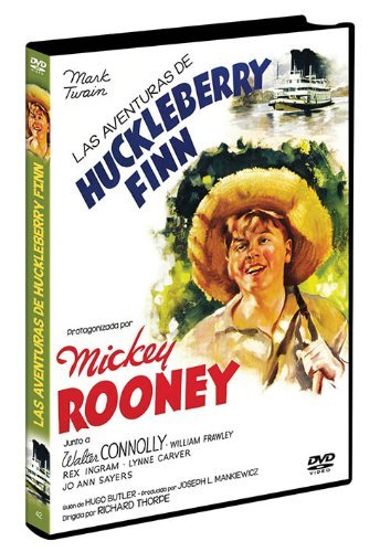 The Adventures of Huckleberry Finn (Region 2) by Walter Connolly, William Frawley, Rex Ingram, Minor Watson, Jo Ann Sayers Mick