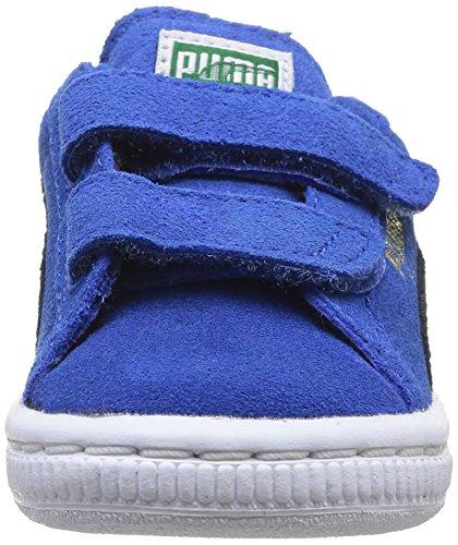 Puma, Baskets mode mixte bébé Bleu (Strong Blue/Black)