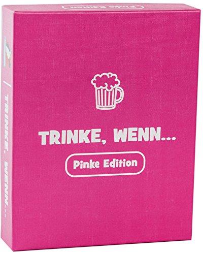 Spielehelden Trinke, wenn.. Pinke Edition - Trinkspiel für deinen Mädelsabend - Tolles Partyspiel und lustige Frauen - Das Must-Have Party Zubehör für tolle Gespräche als Wichtelgeschenke