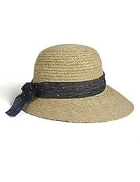 Nuevo Sombrero De Verano Ala Playa De Ancha Sol Sombrero De Paja Elegante  Joven 367f4b08f382