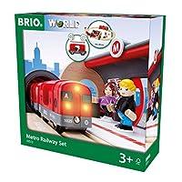 BRIO World - Metro Railway Set