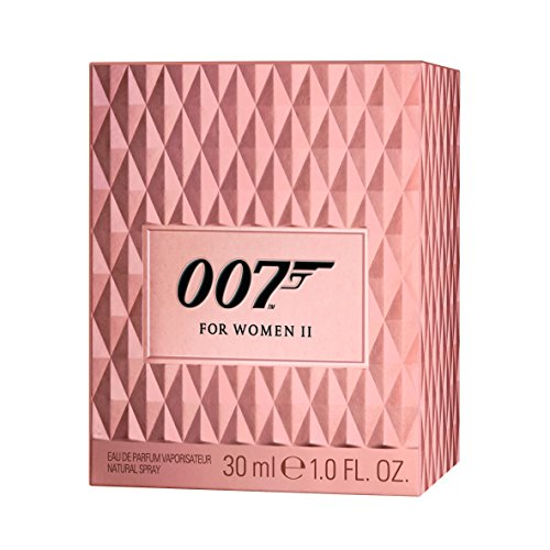 James Bond 007 for Women - Eau de Parfum Natural Spray II - Blumig, orientalisches Damen Parfüm - perfekter, langanhaltender Tagesduft - 1er Pack (1 x 30ml) -
