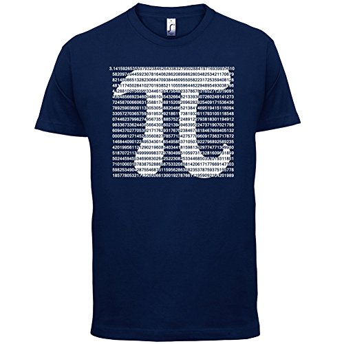 1000 Digits Of Pi - Herren T-Shirt - 13 Farben Navy
