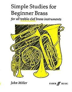 John Miller: Simple Studies For Beginner Brass French Horn Sheet Music