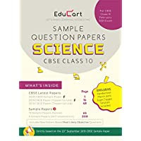 Educart CBSE Sample Question Papers Class 10 Science (For February 2020 Exam)