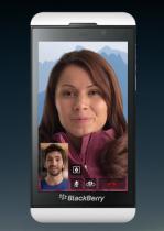 BBM Video con pantalla compartida