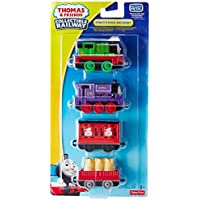 Thomas Friends Collectable Railway Toy - Percy's Mail Delivery Diecast 4 Pack - Charlie Train Engine