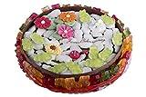 Fruchtgummi Happy Birthday Torte zum Geburtstag, mit Fruchtgummi-Fröschen und Marshmallows, 560g
