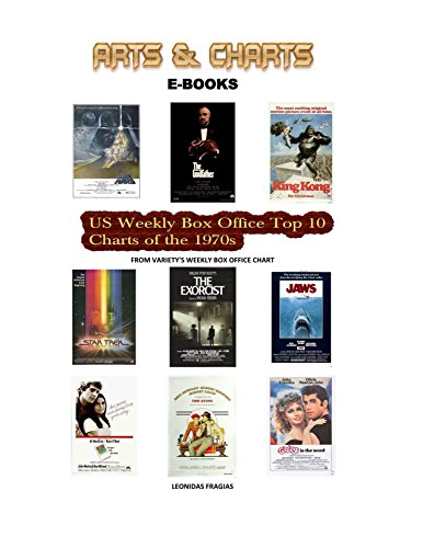 US Weekly Box Office Top 10 Charts of the 1970s (English Edition)