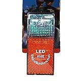 Prophete Dioden-Rücklicht mit Standlichtautomatik Montage am Schutzblech, schwarz, 5682