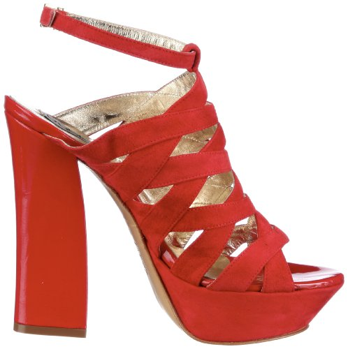 Byblos GAGA CXA7824, Sandales femme Rouge-TR-SW101