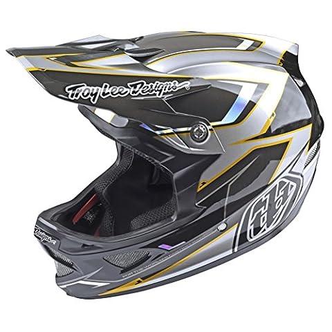Troy Lee Designs Downhill-MTB Helm D3 Carbon Grau Gr. L