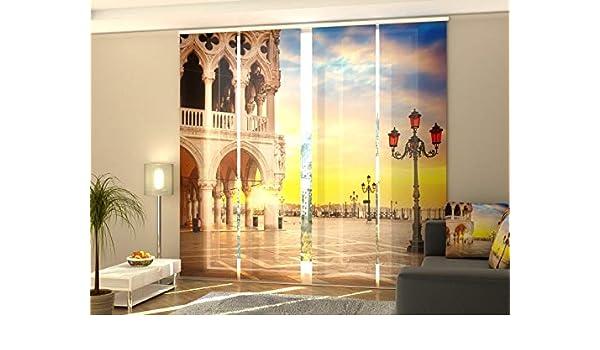 Flächenvorhang Schiebegardinen mit Motiv Fotogardinen Venedig auf Maß