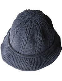 TYGRR Sombrero De Pescador Dama Salvaje Sombrero De Lana Punto Caliente  Sombrero De La Cuenca Moda e891ead6960
