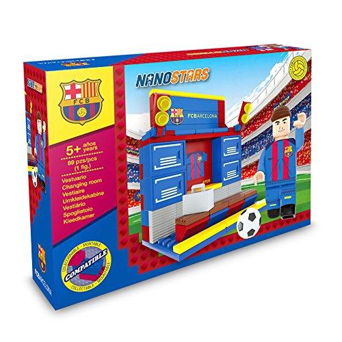 Si eres un fanático del fútbol,   te encanta el FC Barcelona y disfruta construyendo y construyendo, entonces, la colorida gama de construcción basada en ladrillos; Nanostars es para ti. ¡Primero construye y crea tu propio vestuario del club de fútbo...