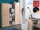 Büro-Kombi Büromöbel Schrank Regal Beistellschrank Beistellregal