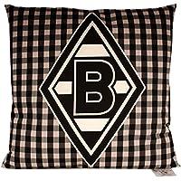 Borussia Mönchengladbach Kissen, Karo, Größe 38 x 38 cm