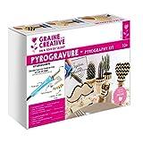 Kit decouverte pyrogravure 7 pannes + accessoires