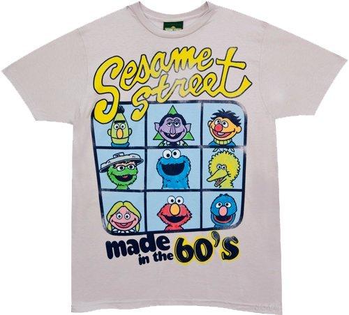 60s Sesamo Apriti T-Shirt - Sesame Street