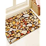 Story@Home Designer Stone Pattern Fancy Super Soft Anti Skid Superior Quality Door Mat for Main Door,Bedroom, Entrance, Kitchen, Home, Main Door, Entryway, Shop, Office, Covered Outdoor, Bed room, Floor with Hard, Ecofriendly, Thick Material -Multi