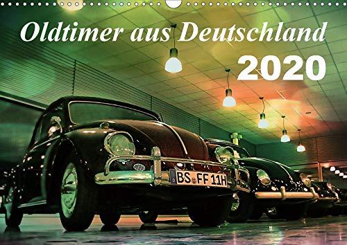 Oldtimer aus Deutschland (Wandkalender 2020 DIN A3 quer)