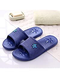 Hausschuhe MEIDUO Sandalen weiblich Sommerhaus Badezimmer Badezimmer rutschfeste Massage Schuhe Boden Paar zu...
