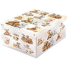 Lavatelli 660pel peluches caja de cartón para almacenaje Collection 50x 39x 24cm), multicolor
