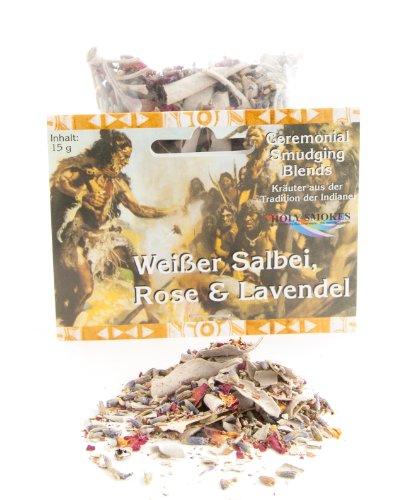 Berk HS-319 Räucherwerk - Weißer Salbei mit rose und lavendel