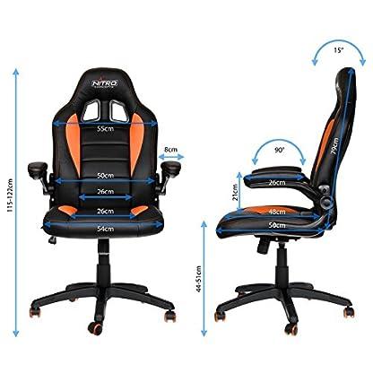 51obl8WgUFL. SS416  - Nitro Concepts C80 Motion Chair Silla de Oficina