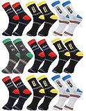 Krystle Unisex coloured Ankle Length Socks (PACK OF 9)