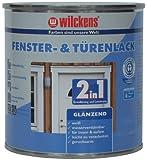 Wilckens 2-in-1 Fenster- & Türenlack glänzend, 750 ml, weiß 12993000050