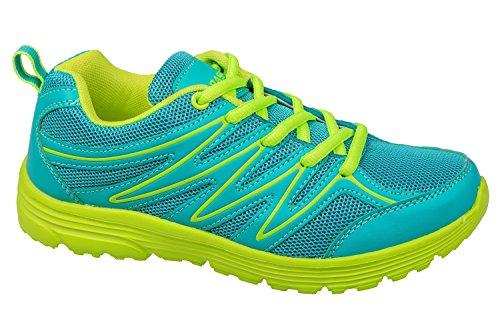Calçado 41 Neon Muito Verde Confortáveis Turquesa Desportivo Turquesa 36 Gr Leves E Verde Neon Gibra® d4TqPd