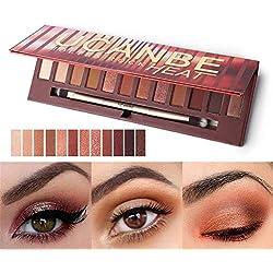 Huoju 2018 Newest Design 12 Couleurs de Maquillage Correcteur Contour Palette + pinceau de maquillage (A1)
