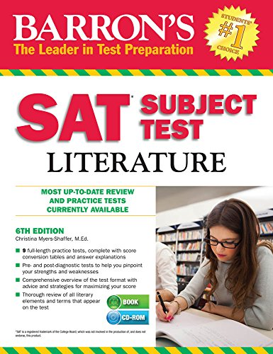 Sat Subject Test Literature