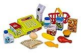 Play&Smile Kaufladenkasse Spielzeug Scanner mit Licht- und Sound-Effekt
