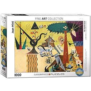"""Eurographics """"Joan Miró Tierra labrada Puzzle (1000 Piezas"""