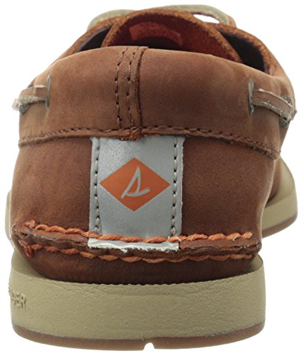 Sperry Top-Sider Mens Captains A/O 2-Eye Boat Shoe Tan