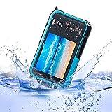 KOBWA 24MP Unterwasser HD Digitalkamera, Full HD 1080P Wasserdichte Kamera mit Zoomobjektiv und Dual Screen für Selbstauslöser (Blau)